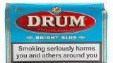 Drum Bright Blue Hand Rolling Tobacco made in Netherlands. 5 x 50 g pouches. Free shipping!