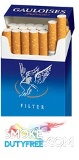 Gauloises Blue Blondes cigarettes made in France. 1 carton, 10 packs. Free shipping