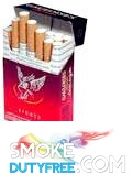 Gauloises Blondes Red cigarettes made in France. 1 carton, 10 packs. Free shipping