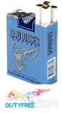 Gauloises Brunes Non Filter cigarettes made in France. 1 carton, 10 packs. Free shipping