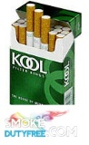Kool Menthol King Size Box cigarettes made in Dominican Republic, 1 carton,10 packs. Free shipping!
