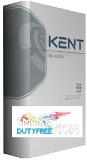 Kent Silver HD King Size cigarettes made in EU. 1 carton, 10 packs. Free shipping!