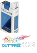 Parliament 100s Soft Pack cigarettes made in EU. 1 carton, 10 packs. Free shipping!