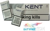 Kent Neo 100s Charcoal Triple Filter cigarettes made in EU. 1 carton, 10 packs. Free shipping!