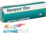Newport Menthol King Box cigarettes made in Dominican Republic. 1 carton, 10 packs. Free shipping!