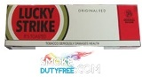 Lucky Strike King Box cigarettes made in EU, 1 carton,10 packs. Free shipping!