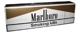 Marlboro Gold 100 Box Cigarettes made in Switzerland. Free shipping!