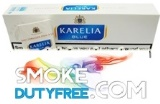 Karelia Blue King Size cigarettes made in Greece. 1 carton, 10 packs. Free shipping