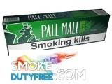 Pall Mall Menthol Alaska cigarettes made in EU. 1 carton, 10 packs. Free shipping!