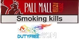 Pall Mall Blue Smooth Taste cigarettes made in EU. 1 carton, 10 packs. Free shipping!