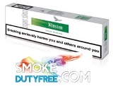 Winston Menthol Super Slim cigarettes made in EU. 1 carton, 10 packs. Free shipping!