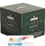 Nat Sherman Classic Menthol cigarettes made in USA, 1 Cube, 100 cigarettes, Free shipping!