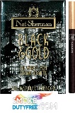Nat Sherman Black & Gold cigarettes made in USA, 1 Cube, 100 cigarettes, Free shipping!
