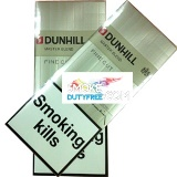 Dunhill Fine Cut Gold/White cigarettes made in EU. 1 carton, 10 packs. Free shipping!