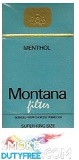 Montana Menthol 100 Box  cigarettes made in EU, 1 carton,10 packs. Free shipping!