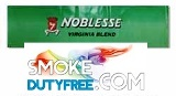 Noblesse King Size Soft cigarettes made in EU. 1 carton, 10 packs. Free shipping!