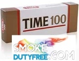 Time 100s Red cigarettes made in EU. 1 carton, 10 packs. Free shipping!