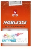 Noblesse Golden Virgina Box cigarettes made in EU. 1 carton, 10 packs. Free shipping!