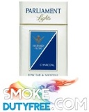 Parliament Blue King Size cigarettes made in EU. 1 carton, 10 packs. Free shipping!