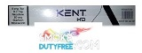 Kent Blue HD Navy Blue cigarettes made in EU. 1 carton, 10 packs. Free shipping!