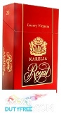 Karelia Royal King Size cigarettes made in Greece. 1 carton, 10 packs. Free shipping