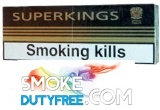 Superkings 100 Box cigarettes made in UK. 1 carton, 10 packs. Free shipping!