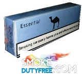 Camel Essential Blue Box cigarettes made in EU. 1 carton, 10 packs.