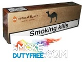 Camel Natural Flavor Box cigarettes made in EU. 1 carton, 10 packs.