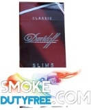 Davidoff Classic Slims cigarettes made in Germany. 1 carton, 10 packs.