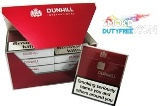 Dunhill International cigarettes made in EU. 1 carton, 10 packs. Free shipping!