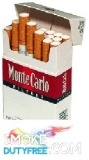 Monte Carlo Filter King Size Hard Pack cigarettes made in EU, 1 carton,10 packs. Free shipping!