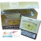 George Karelia & Son Smooth Virginia cigarettes made in Greece. 1 carton, 10 packs. Free shipping!