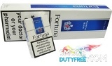 Fortuna Blue cigarettes made in France. 1 carton, 10 packs. Free shipping!