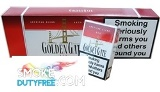 Golden Gate King Size Hard Pack cigarettes made in EU. 1 carton, 10 packs. Free shipping