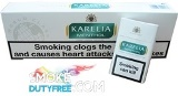 Karelia Menthol cigarettes made in Greece. 1 carton, 10 packs. Free shipping