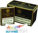 Sobranie Black Russian 100s cigarettes made in UK. 1 carton, 10 packs. Free shipping!