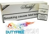 Davidoff White Gold Box cigarettes made in Germany. 1 carton, 10 packs.