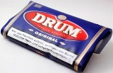 Drum Original Hand Rolling Tobacco made in Netherlands. 5 x 50 g pouches. Free shipping!