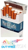 Monte Carlo Blue King Size Hard Pack cigarettes made in EU, 1 carton,10 packs. Free shipping!