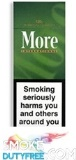 More International Menthol 120s Hard Pack cigarettes made in EU, 1 carton,10 packs. Free shipping!