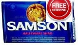 Samson Halfzware Shag Hand Rolling Tobacco made in Netherlands. 5 x 50 g pouches. Free shipping!