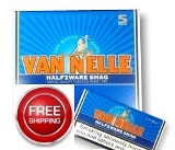 Van Nelle Halfzware Shag Hand Rolling Tobacco made in Netherlands. 5 x 50 g pouches. Free shipping!
